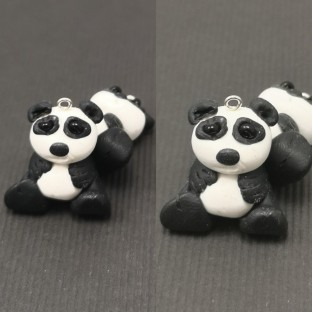 FloRaeMe polymer clay pandas (1)