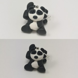 FloRaeMe polymer clay pandas (2)