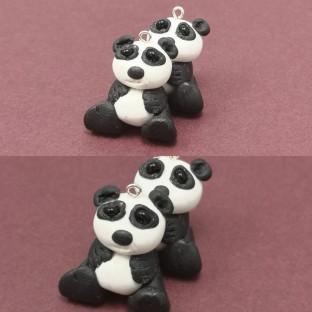 FloRaeMe polymer clay pandas (5)