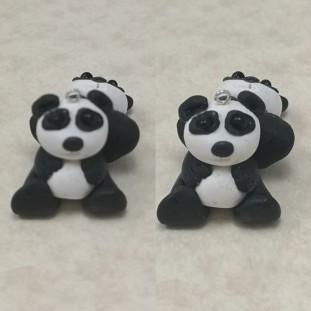 FloRaeMe polymer clay pandas (6)